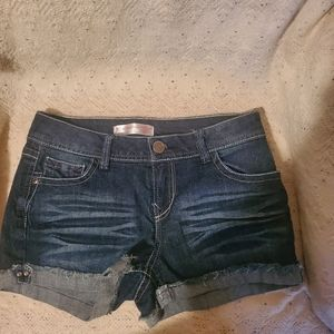 ♡ jean shorts